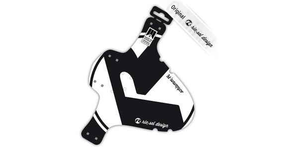 rie:sel design schlamm:PE Stänkskärm White label vit/svart